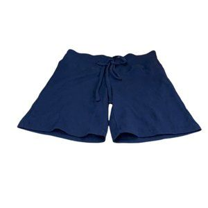 Mighty Fine Navy Draw String Lounge Shorts